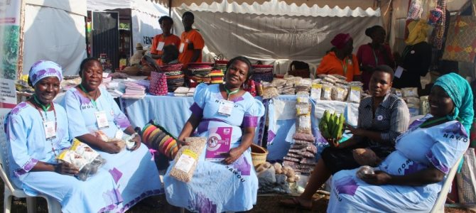 Jinja agricultural show yields more than profits for women