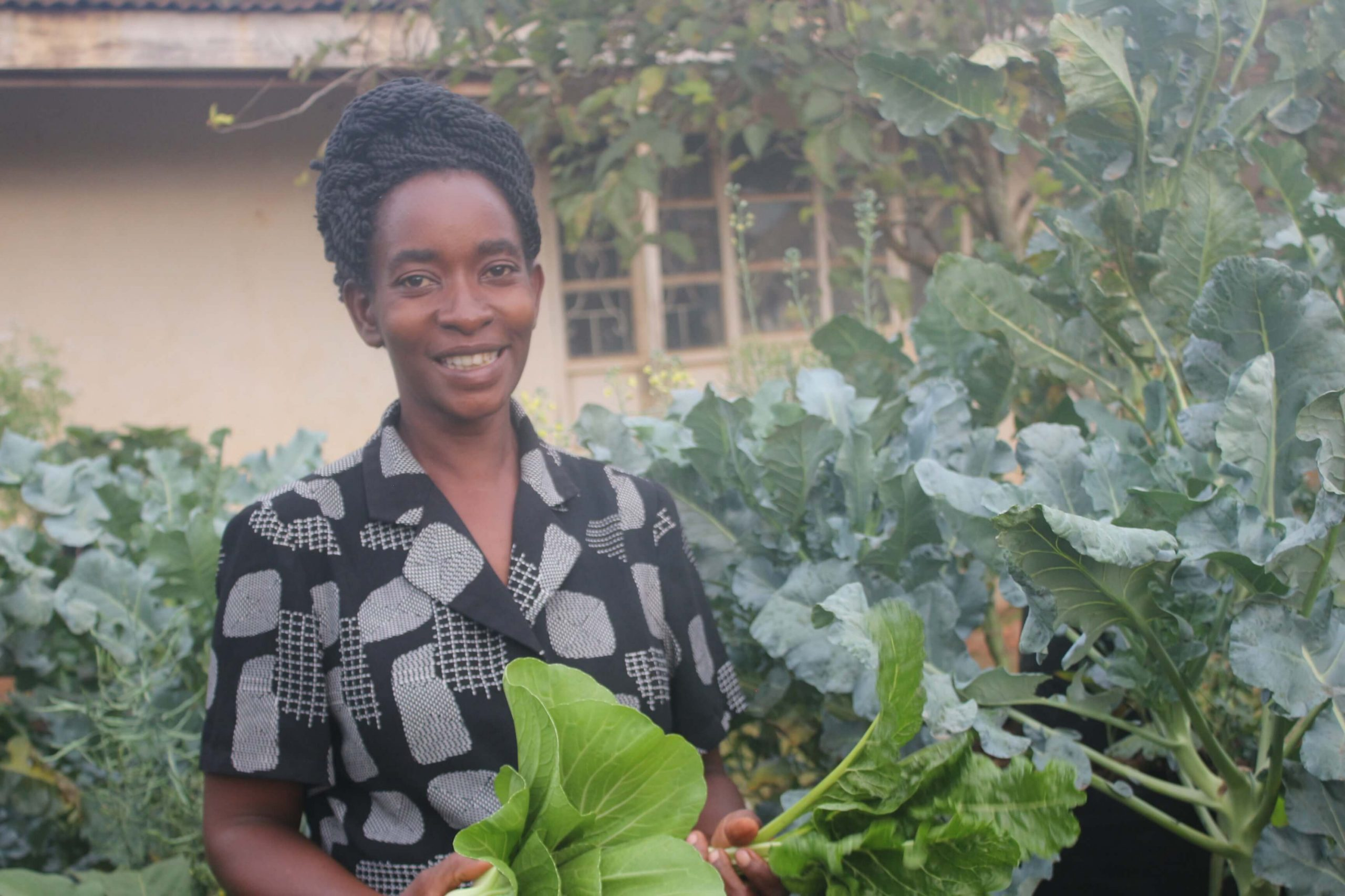 INNOVATIVE BACKYARD GARDENING BOOSTS BENEFICIARIES' INCOME DURING PANDEMIC.